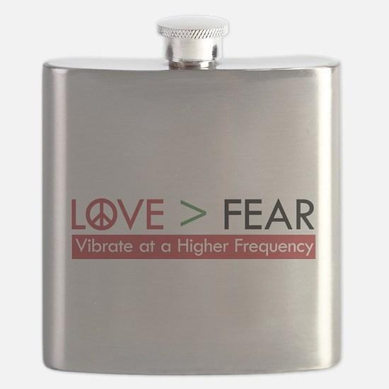 LOVE FEAR Flask