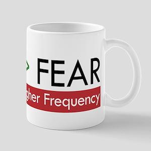 LOVE FEAR Mugs
