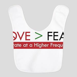 LOVE FEAR Bib