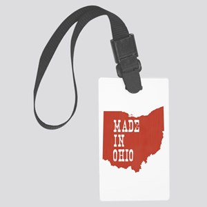 Ohio Large Luggage Tag