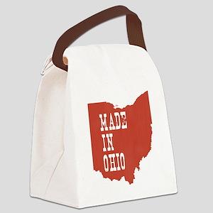 Ohio Canvas Lunch Bag
