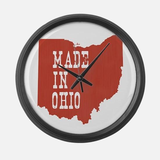 Ohio Large Wall Clock