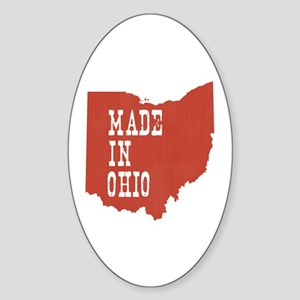 Ohio Sticker (Oval)