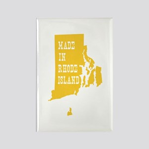 Rhode Island Rectangle Magnet