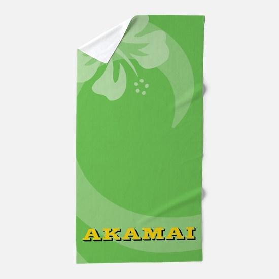 Akamai Beach Towel