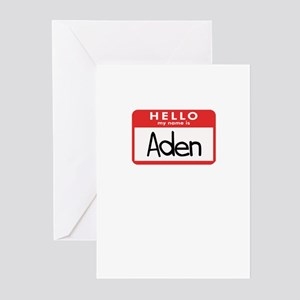 Hello Aden Greeting Cards (Pk of 10)