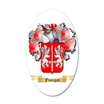 Finnigan 35x21 Oval Wall Decal