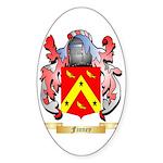 Finney Sticker (Oval 10 pk)