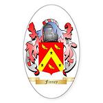 Finney Sticker (Oval 50 pk)