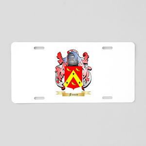 Finney Aluminum License Plate