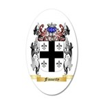 Finnerty 35x21 Oval Wall Decal