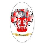 Finnegan Sticker (Oval 50 pk)