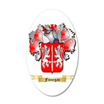Finnegan 20x12 Oval Wall Decal