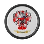 Finnegan Large Wall Clock