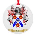 Finley Round Ornament