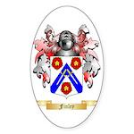 Finley Sticker (Oval 50 pk)