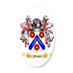 Finlay Oval Car Magnet