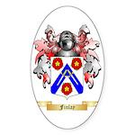 Finlay Sticker (Oval 50 pk)