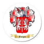 Finegan Round Car Magnet