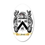 Finch 20x12 Oval Wall Decal