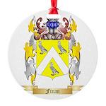 Finan Round Ornament