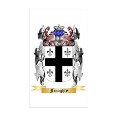 Finaghty Sticker (Rectangle 10 pk)