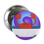 Crab in Tub (Swirls) 2.25