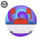 Crab in Tub (Swirls) 3.5