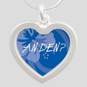 An Den? Silver Heart Necklace