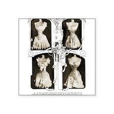 1905 Delineator Corsets Square Sticker 3