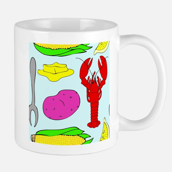 Lobster Dinner Mugs