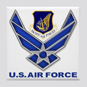 US Pacific Air Force Tile Coaster