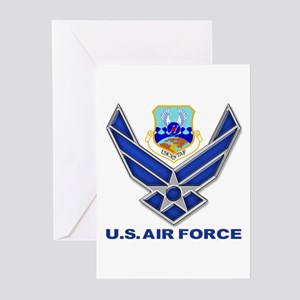 US CENTAF Greeting Cards (Pk of 10)