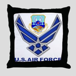 US CENTAF Throw Pillow