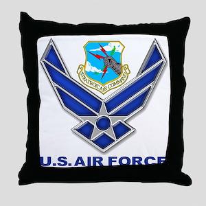 USAF SAC Throw Pillow