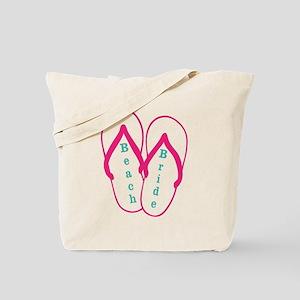 Beach Bride Tote Bag