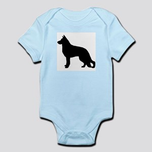 german shepherd 3 Body Suit