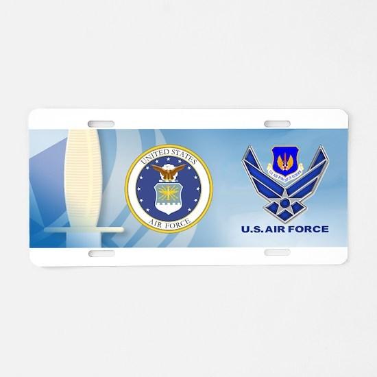USAF Europe Aluminum License Plate