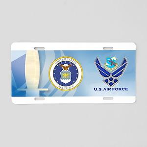 SAC Aluminum License Plate
