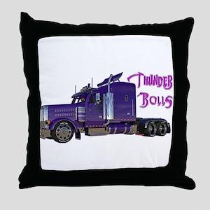 Thunder Rolls Throw Pillow