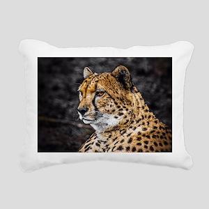 Spotty Rectangular Canvas Pillow