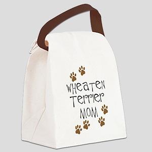 Wheaten Terrier Mom Canvas Lunch Bag