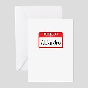 Hello Alejandro Greeting Cards (Pk of 10)