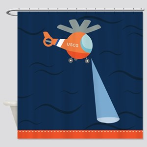 Coast Guard Search And Rescue Shower Curtain