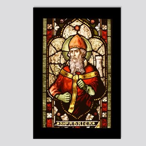 Stained Patrick II Postcards (Package of 8)