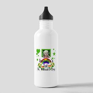 Baby photo St. Patricks Day Water Bottle