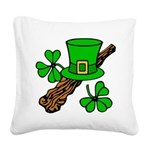 Liftarn - Hat - Shillelagh Square Canvas Pillow
