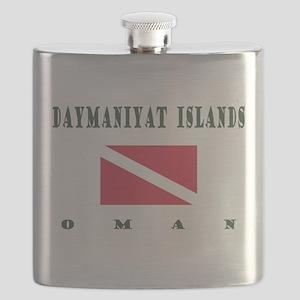 Daymaniyat Islands Oman Dive Flask