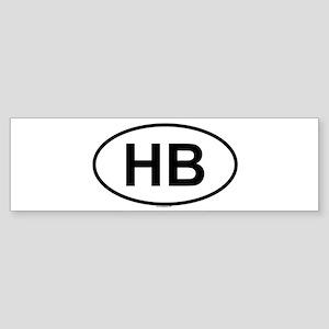 HB Bumper Sticker