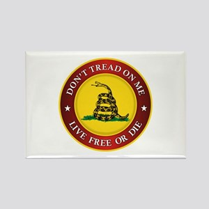 DTOM Gadsden Flag (logo) Magnets